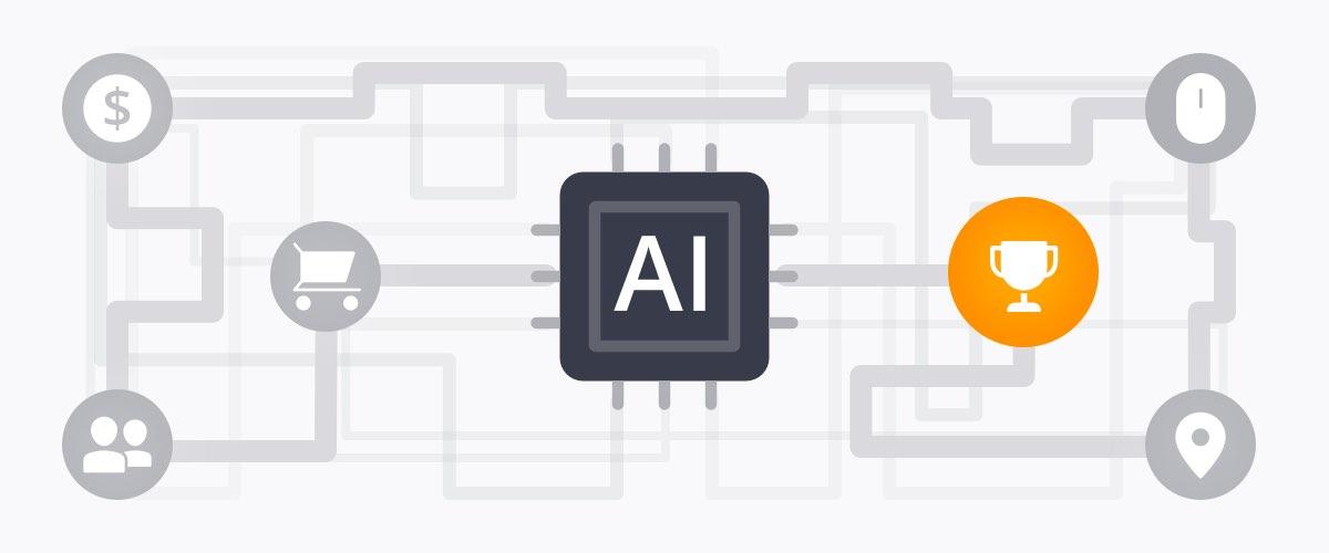 Illustration of AI functionality